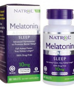 Melatonina Natrol 10mg Advanced Sleep