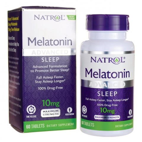 Melatonina Natrol 10mg Advanced Sleep