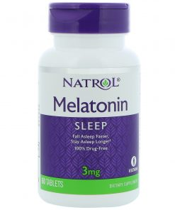 Melatonina Natrol 3mg