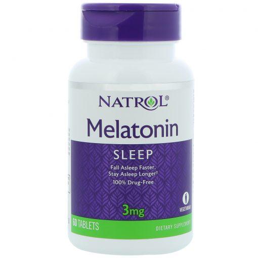 Melatonina Natrol 3mg