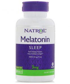 Melatonina Natrol 3mg 240 comprimidos