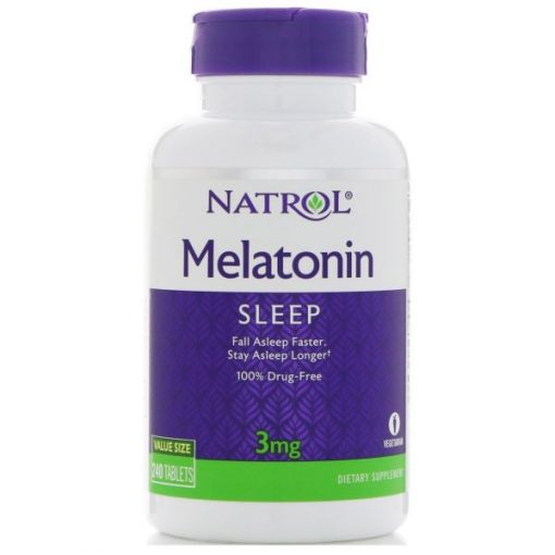 Melatonina Natrol 3mg 240 tabs