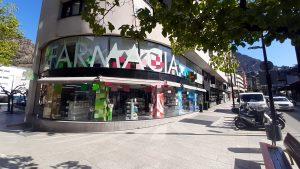 Farmacia Andorra Online. Exterior Farmacia Roser Miró.