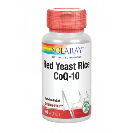 Red Yeast Rice + CoQ10 Solaray
